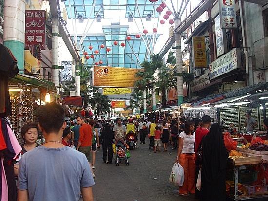 Chinatown Petaling Street In Kuala Lumpur Location Maps